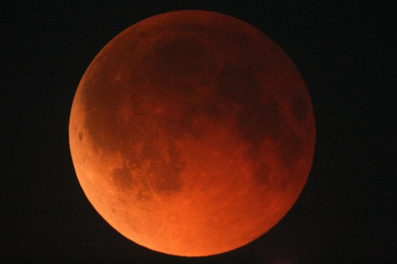 2010年12月21日「皆既月食を観察...